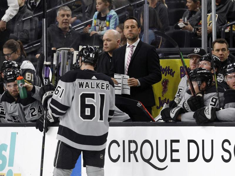 Marco Sturm ist jetzt Assistenzcoach des NHL-Clubs Los Angeles Kings. Foto: Joe Buglewicz/AP                                 Joe Buglewicz